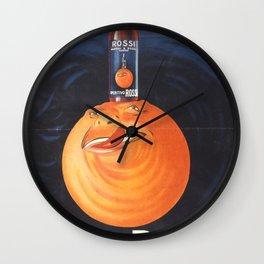 Aperitivo Rossi Wall Clock