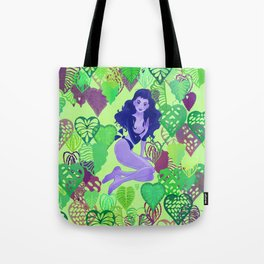 Jungle Green - Tropical Bliss Tote Bag