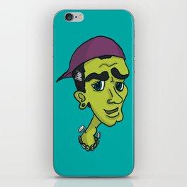 'Hipster Hammer Horror' - Frankenstein's Monster iPhone Skin