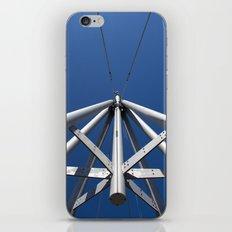 Sky and steel iPhone Skin