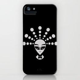 Alien men in black iPhone Case