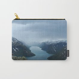 Down the Fjord Carry-All Pouch