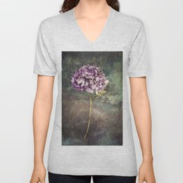 Beautiful Hydrangea Unisex V-Neck
