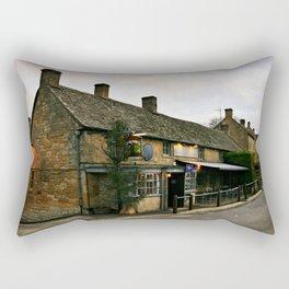 The Hollow Bottom. Rectangular Pillow