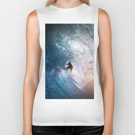 Cosmic surfer Biker Tank