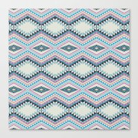 totem Canvas Prints featuring totem by spinL