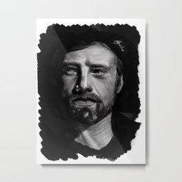 Sebastian Stan Metal Print