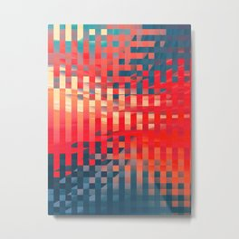 Abstract Composition 677 Metal Print