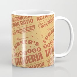 Turner's Rooftop Taqueria Coffee Mug