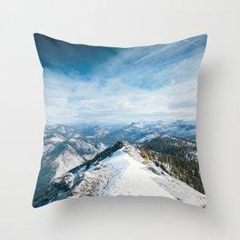 Clouds Rest Throw Pillow