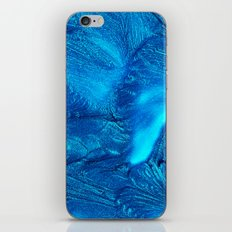 ELECTRIC BLUE iPhone & iPod Skin