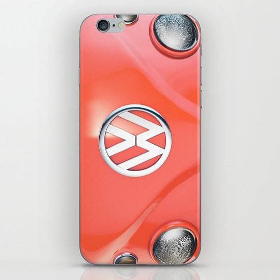 Big Orange iPhone & iPod Skin