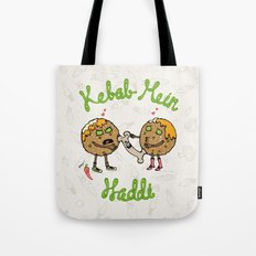 Kebab Mein Haddi Tote Bag
