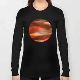 """Sea of sand and caramel waves"" Long Sleeve T-shirt"