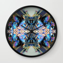 Mineral Composition 2 Wall Clock