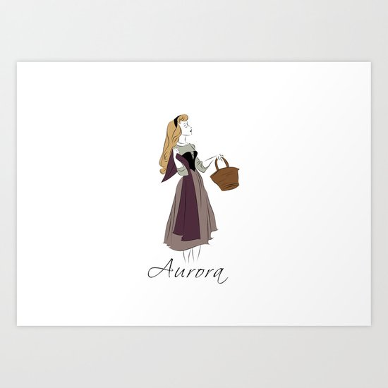 Princess Aurora Art Print