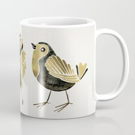 24-Karat Goldfinches Coffee Mug