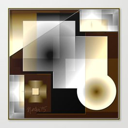 A Geometrica  Canvas Print