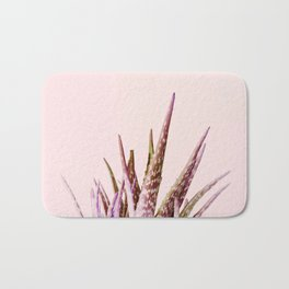 Duotone Aloe Vera on pastel Coral Bath Mat