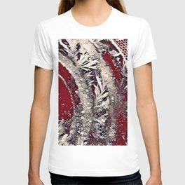 Got Frost Red Silver by CheyAnne Sexton T-shirt