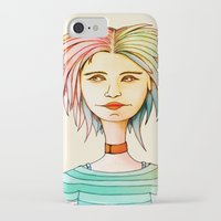 rasta iPhone & iPod Cases featuring Rasta Girl by IOSQ