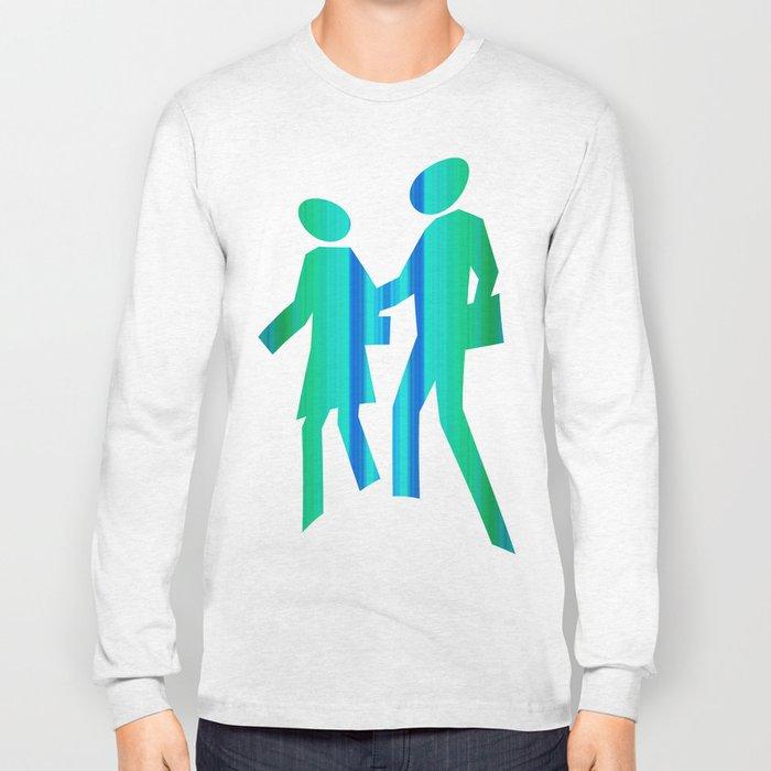 Illusion cube 4 Long Sleeve T-shirt