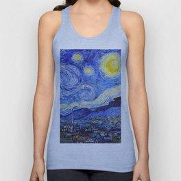 "Vincent van Gogh "" Starry Night "" Unisex Tank Top"