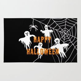 Monsters Happy Halloween Rug