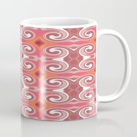 spice Mugs featuring Marrakech Spice by ALLY COXON