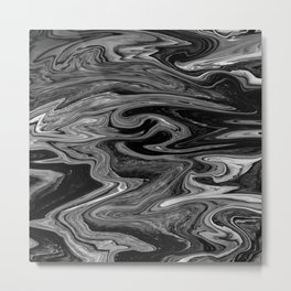 Marbled XIX Metal Print