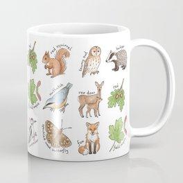 British Woodland Wildlife Coffee Mug