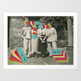 Television Memories Art Print