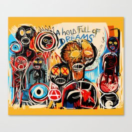 Head full of dreams Canvas Print