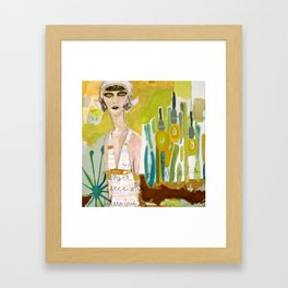 alignment with the story Framed Art Print