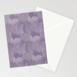 Industrial Abstract Texture in Lavenders Stationery Cards