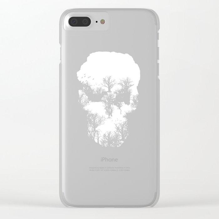 Dark Forest II Clear iPhone Case