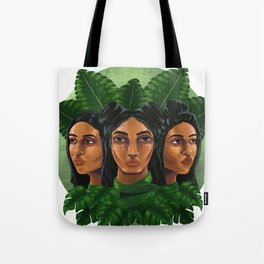 MelaninGirls Tote Bag