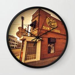 Sun Studios Memphis Wall Clock