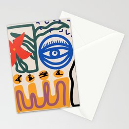 Eye for the flower Stationery Cards