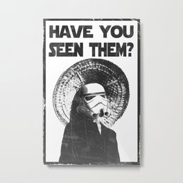 The Bucket Brigade: Search for Imperial Chin Metal Print