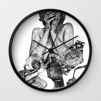 vogue Wall Clocks featuring Vogue by [ g ]
