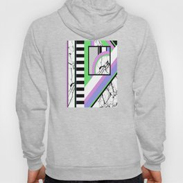 AMPS Deux - Abstract, Marble, Pastel, Stripes Hoody