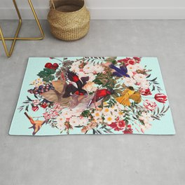 Floral and Birds XXXI Rug