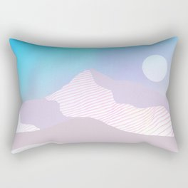 Dune Moon Rectangular Pillow