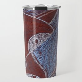 Rainforest Fox Travel Mug