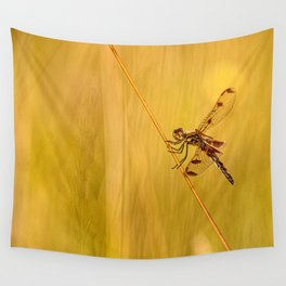 Dragonfly Pole Dance ~ Ginkelmier Inspired Wall Tapestry