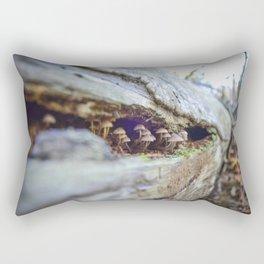 Mushroom Observers Rectangular Pillow