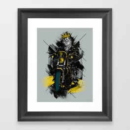 Sons Of Monarchy Framed Art Print