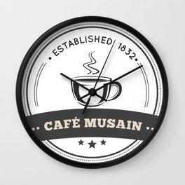 Café Musain #2 Wall Clock
