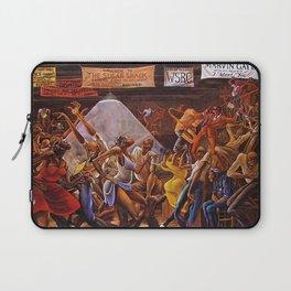 Classical Masterpiece 'Sugar Shack' by Ernie Barnes Laptop Sleeve